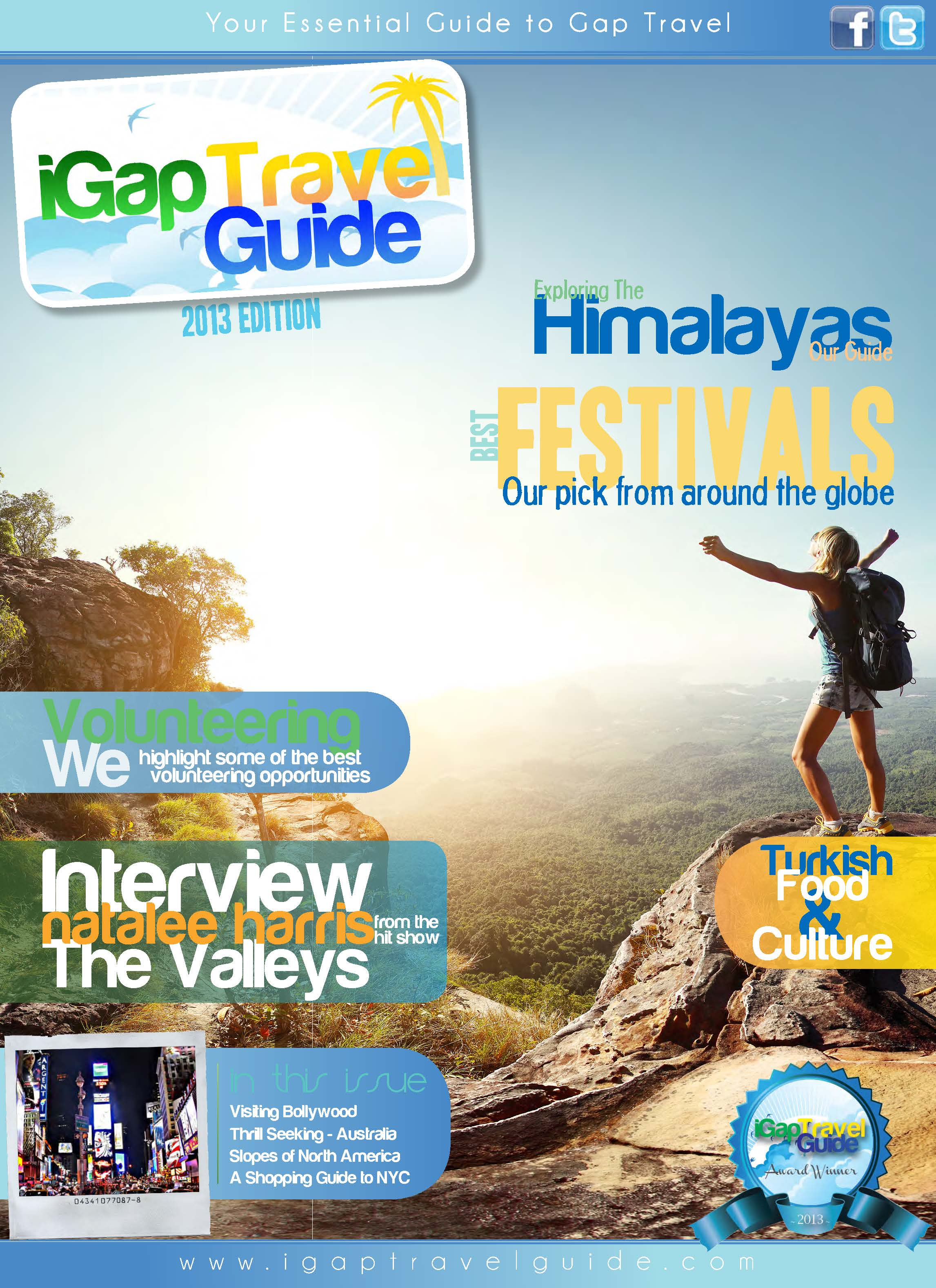 The iGap Travel Guide 2013 - Cover Image