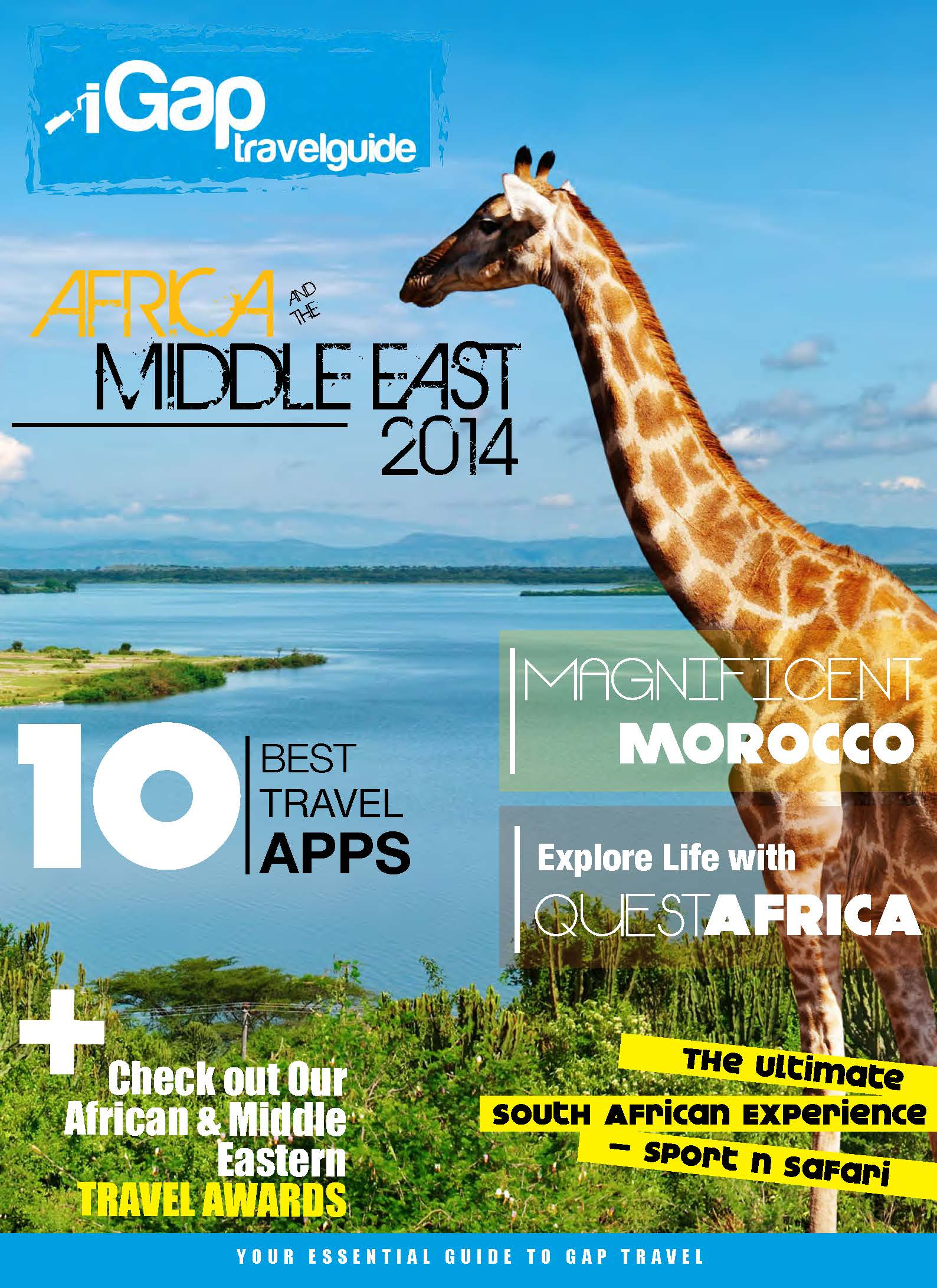 The iGap Travel Guide: Africa and The Middle East 2014 - Cover Image