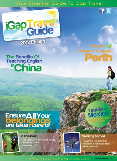 iGap Travel Guide 2012 - Cover Image